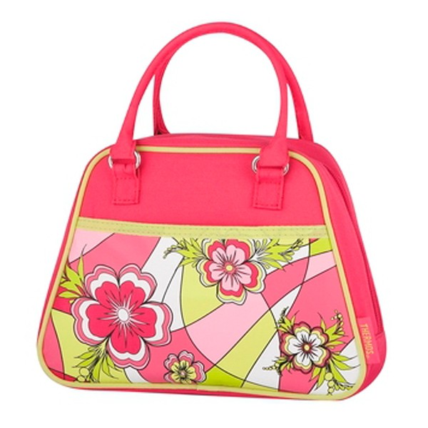 THERMOS MOD FLORAL NOVELTY PURSE
